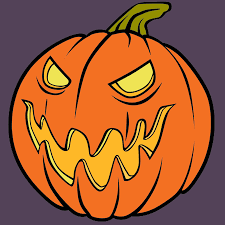 coloriage méchante citrouille d u0027halloween a imprimer halloween