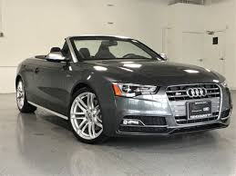 certified pre owned audi s5 certified used 2015 audi s5 premium plus for sale in highland park