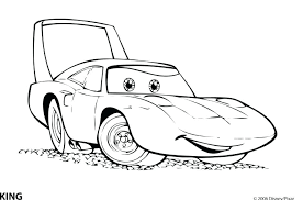 Coloring Pages Cars Car Coloring Pages Mater Goes Tractor Colouring Pages Of Cars