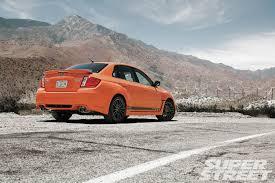 subaru orange 2013 subaru wrx sti special edition super street magazine