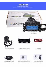 Radio Base Station Vhf Air Band Frequency Mobile Zastone Zt D9000 50w Tri Band 220mhz Mobile Radio Base Station