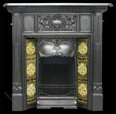 antiques atlas antique art nouveau edwardian cast iron fireplace