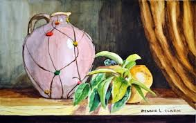 How To Paint A Vase How To Paint A Vase And Plant Still Life In Watercolor U2014 Online