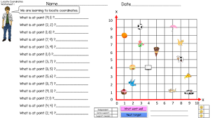 math quadrants worksheets u0026 the coordinate plane math worksheet