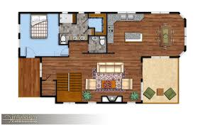 Floor Plan Renderings New Architectural Renderings Jintu Designs