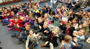 class field trip to library