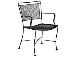 Woodard Iron Patio Furniture - woodard constantine wrought iron dining set conds