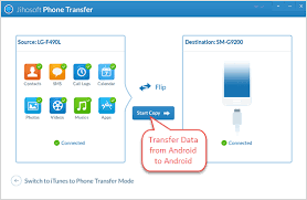 android migrate how to transfer data from android to android