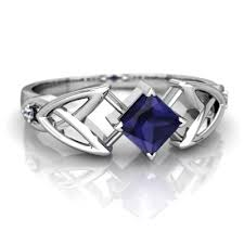 saphire rings sapphire celtic knot ring r3349 wsphr