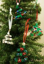 child made bead ornaments ornament beaded ornaments