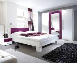 moderne deko cool schlafzimmer grau lila ideen