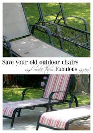 Chaise Lawn Chair Recover Your Old Chaise Lounge Chairs