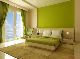 Bedroom Colour Using Orange As The Bedroom Wall Color To Make It Look Fresher