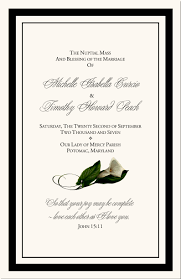 catholic wedding program cover calla wedding program exles catholic mass wedding program
