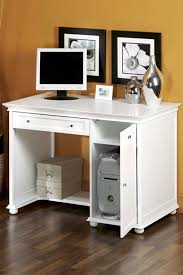 innovative white wood computer desk small white computer desk
