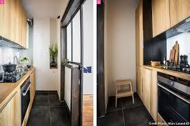 cuisine couloir aménager une cuisine tout en longueur