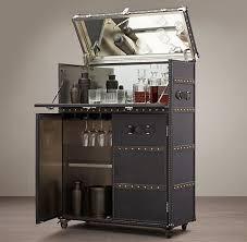 Metal Bar Cabinet Bar Carts Rh