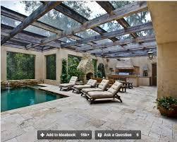 Houzz Patios Pergola With Glass Top Patio Structure Http Www Houzz Com