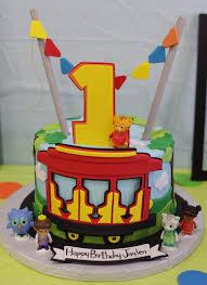 daniel tiger cake daniel tiger theme birthday cake with velvet inside yelp