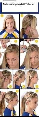 hairstyles for gymnastics meets 7 easy ways to do your hair for sports