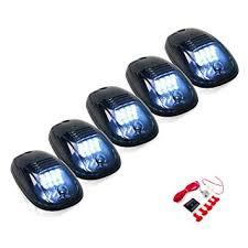 dodge ram clearance lights leaking amazon com 5 pcs cab marker lights w 16 white led for 2003 2017