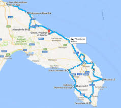 Brindisi Italy Map by Puglia Road Trip