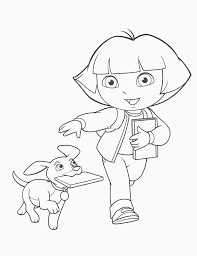 dora and boots halloween coloring pages majorwhite com