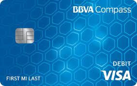 Bank Of America Change Card Design Visa Debit Cards Bbva Compass