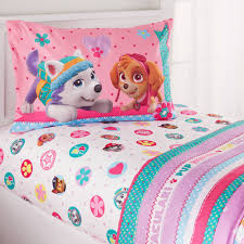 Comforters For Toddler Beds Paw Patrol U0027best Pup U0027 Twin Bedding Sheet Set Walmart Com