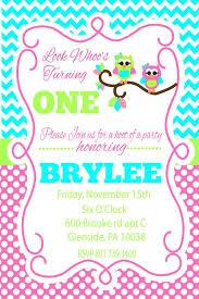 owl birthday invitations cloveranddot