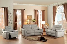 Power Reclining Sofa And Loveseat Sets Vortex Power Motion Sofa Grey By Homelegance