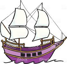purple pirate ship stock vector art 156612417 istock