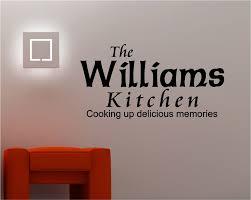 personalised decorative kitchen vinyl art wall stickers quotes personalised wall stickers quotes image permalink