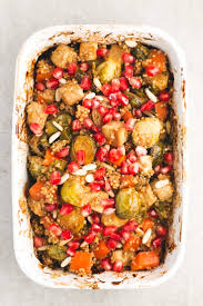 Roasted Vegetable Recipes by Roasted Veggies And Baked Tofu