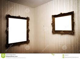 Gallery Wall Frames by Gallery Wall With Old Frames Stock Photo Image 40544473