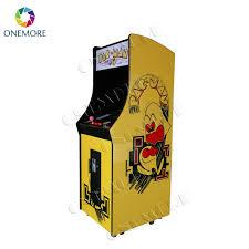 pacman standup wooden arcade cabinet upright arcade game machine