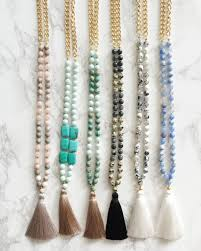 beaded necklace with tassel images Beaded tassel necklace breakpoint me jpg