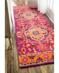 Purple Rug Runners Amazing Deal Nuloom Overdyed Persian Palace Wool Maroon Runner
