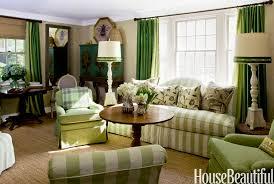 green stripe furniture in room green cottage living room frances