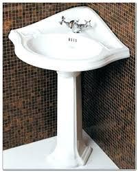 Kohler Pedestal Bathroom Sinks Corner Pedestal Bathroom Sinkcorner Pedestal Bathroom Sink Kohler