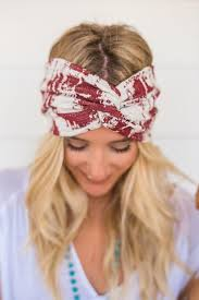 bohemian headbands turbans wide wraps three bird nest