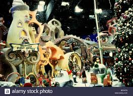 whoville how the grinch stole 2000 stock photo