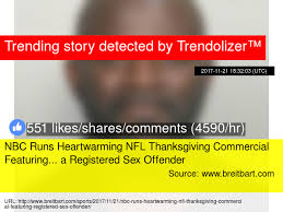 nbc runs heartwarming nfl thanksgiving commercial featuring a