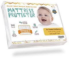 Crib Mattress Protector Pad Crib Mattress Protector Waterproof Pad Cover Ultra