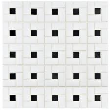 somertile fkomsp20 retro spiral porcelain floor and wall tile