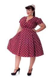 plus size vintage polka dot dresses plus size red u0026 black polka