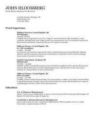 Template Of Resume Resume Images Resume