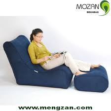 bean bag chair with ottoman 2016 new design floor chairs with back support bean bag ottoman in