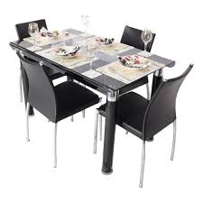 Dining Table For 4 Dining 4 Seater Glass Dining Table Sets Is Also A Kind Of Small