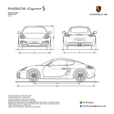 all new porsche cayman s 2014 blueprints by hanif yayan on deviantart all new porsche cayman s 2014 blueprints by hanif yayan